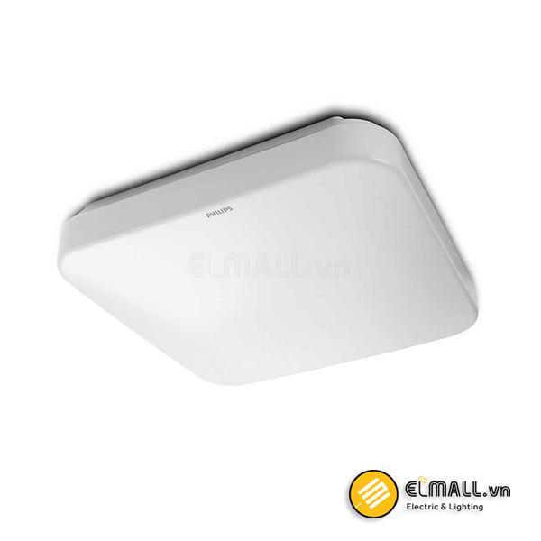 Đèn ốp trần vuông 17W SQ White 31110 Philips