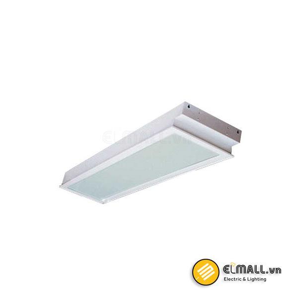 Máng đèn 1m2 2 bóng mặt đèn Prismatic PRFG236 Paragon