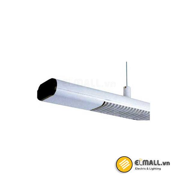Máng đèn treo trần 0m6 2 bóng PCFE218 Paragon