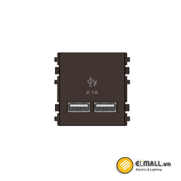 Ổ sạc USB đôi Zencelo A 8432USB_BZ