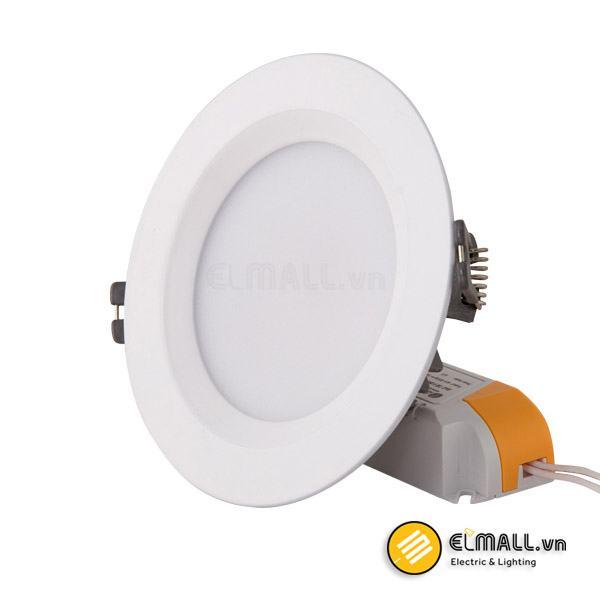 Đèn led âm trần 9W D110 D AT02L Đổi màu Rạng Đông
