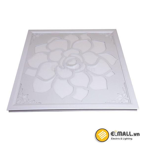 Đèn led panel D P04 TTR01 60×60/40W Hoa văn Rạng Đông