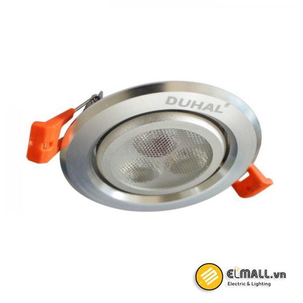 Đèn led âm trần 3W SDFA203 Duhal