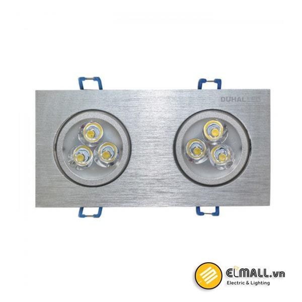 Đèn led âm trần 6W SDFC202 Duhal