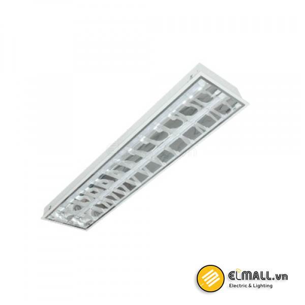 Máng đèn tuýp 2x18W LDA218 Duhal