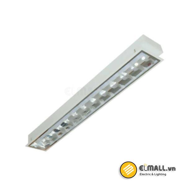 Máng đèn tuýp 1x18W LDA118 Duhal