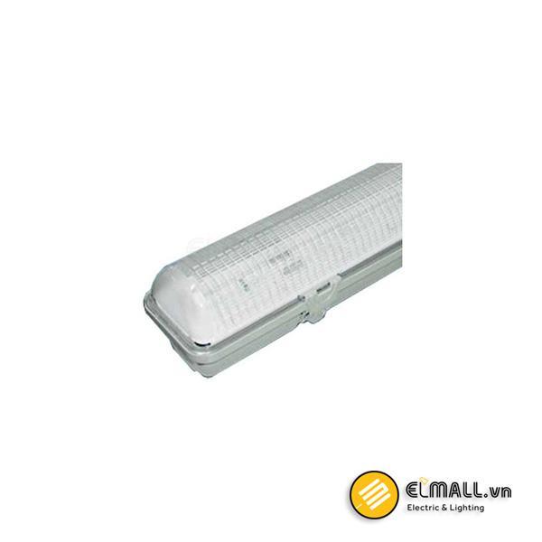Máng đèn tuýp 1m2 2 bóng chống thấm PIFH236 Paragon