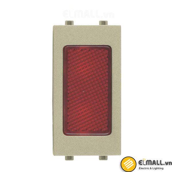 Hạt đèn báo đỏ cỡ S Uten V9.1-P-DLR