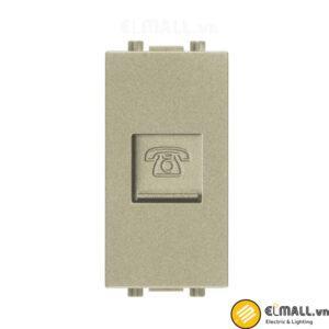 Hạt ổ cắm điện thoại cỡ S Uten V9.1-TELLSS