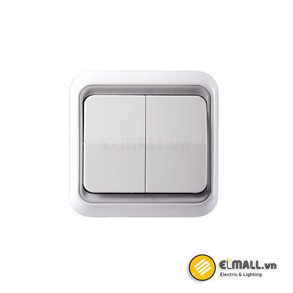 Công tắc đôi 1 chiều 60398-50 Series 60 Simon
