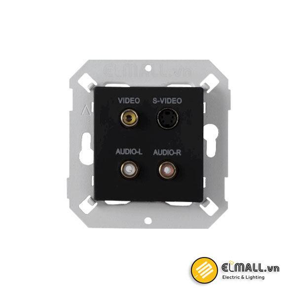 Ổ cắm tín hiệu Audio-Video 80493 Series V8 Simon