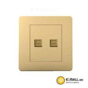 Bộ ổ cắm đôi mạng Uten Q7-2PC