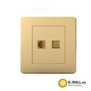 Bộ ổ cắm tivi và mạng Uten Q7-TV/PC