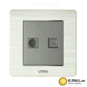 Bộ ổ cắm tivi và mạng Uten V6-G-TV/PC