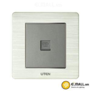 Bộ ổ cắm đơn điện thoại Uten V6-G-1TEL