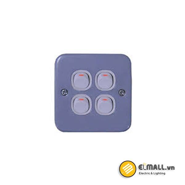 Công tắc bốn 1 chiều E30&EMS ESM34_1_2AR