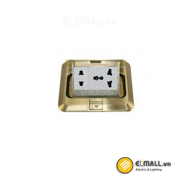 Bộ ổ cắm âm sàn 2 chấu và 3 chấu Uten V4-S12Z13/N