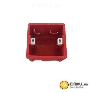 Bộ đế âm tường vuông Uten V4-BOX/A