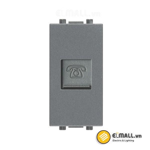 Hạt ổ cắm điện thoại cỡ S Uten V7-TELSS