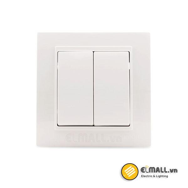 Công tắc nút nhấn đôi V59021F Series V5 Simon