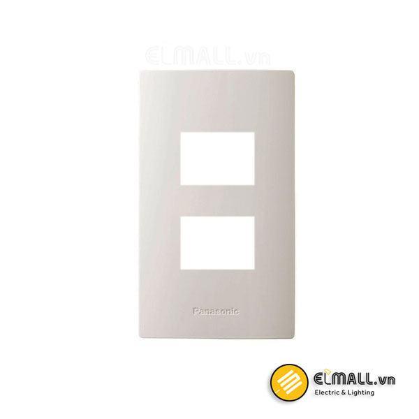 Mặt góc vuông dùng cho 2 thiết bị WZV7842W Panasonic