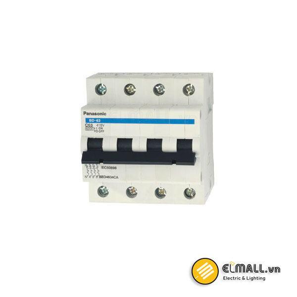 MCB 4P C Curve 80A BBD308031C Panasonic