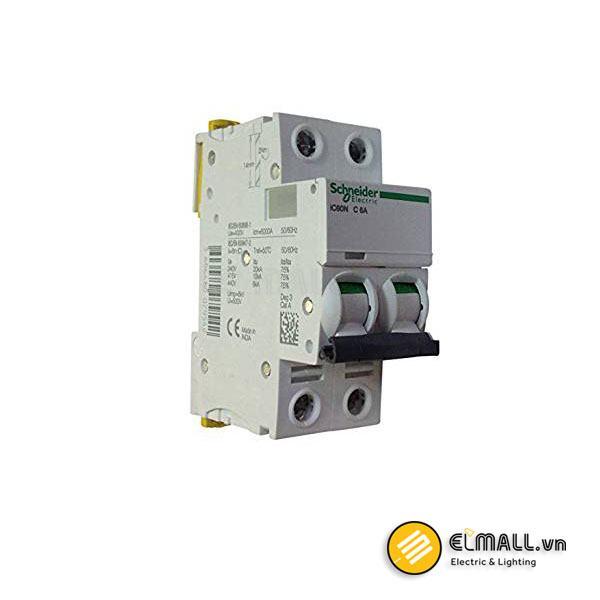 iC60N MCB 2P 6kA 6A – 63A Acti9 Schneider