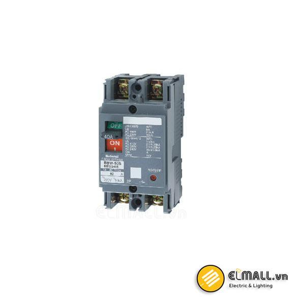 MCCB 2P 40A/50A 10kA 200VAC/415VAC Panasonic
