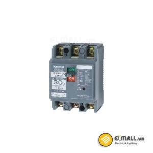 MCCB 3P 10A - 30A 2.5kA/1.5kA 200VAC/415VAC Panasonic