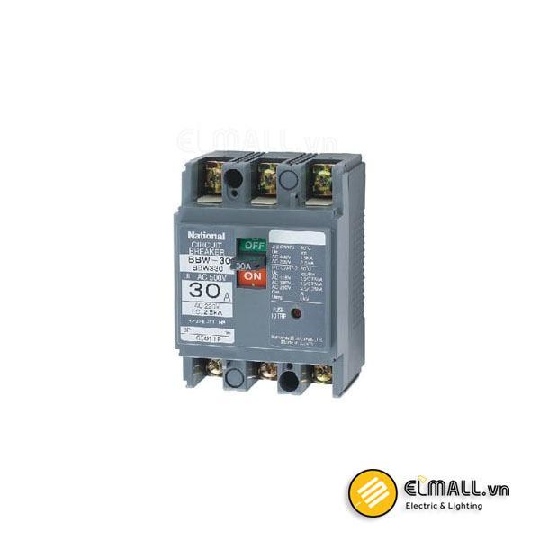 MCCB 3P 10A – 30A 2.5kA/1.5kA 200VAC/415VAC Panasonic