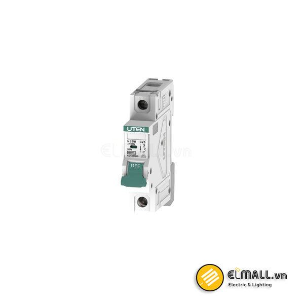 MCB - 1P 10A - 50A 30mA 6kA Uten